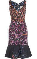 Preen By Thorton Bregazzi Morgan Cotton Blend Sateen Dress - Lyst