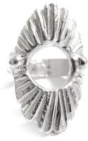 Leah Ball Soleil Ring In Sterling Silver - Lyst