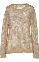 Vanessa Bruno Athé Long Sleeve Sweater - Lyst