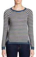 Christopher Fischer Striped Cashmere Sweater - Lyst