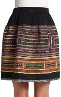 Sachin & Babi Reese Embroidered Skirt - Lyst