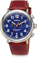 Shinola The Runwell Chronograph Watch - Lyst