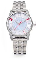 Ted Baker Round Stainless Steel Watch - Lyst