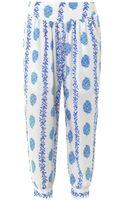 Cool Change Surf Floralprint Trousers - Lyst
