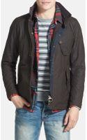 Barbour Cassells Waterproof Waxed Cotton Jacket - Lyst