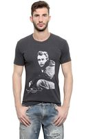 Dolce & Gabbana Cotton Jersey James Dean T-shirt - Lyst