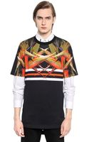 Givenchy Cotton Jersey Columbian Fit T-Shirt - Lyst