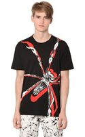 McQ by Alexander McQueen Cotton Jersey Spider T-shirt - Lyst