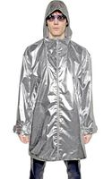 Richard Nicoll Reversible Silver Foil and Wool Anorak - Lyst