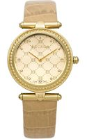 Escada Womens Swiss Vanessa Diamond Accent Beige Leather Strap Watch 34mm Iww - Lyst