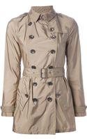 Burberry Brit Lightweight Trench Coat - Lyst