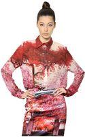 Mary Katrantzou Silk Crepe Chiffon Shirt - Lyst
