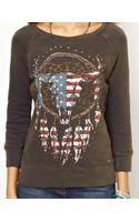 Ralph Lauren Studded Ramskull Sweatshirt - Lyst