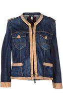 Armani Jeans Denim Outerwear - Lyst