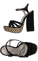 Kg Kurt Geiger Platform Sandals - Lyst
