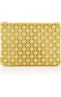 Charlotte Olympia Crystalembellished Crocheted Clutch - Lyst