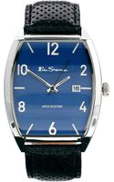 Ben Sherman Curved Dial Leather Strap Watch Bs081 - Lyst