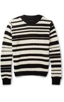 The Elder Statesman Striped Cashmere Sweater - Lyst