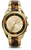 Michael Kors Clarkson Gold-tone Watch - Lyst
