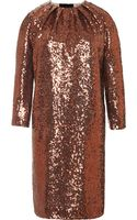 No 21 Annalisa Metallic Sequined Mini Dress - Lyst