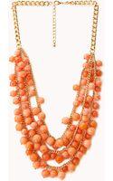 Forever 21 Boho Beauty Beaded Necklace - Lyst