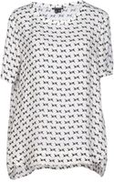Theory Blouse - Lyst