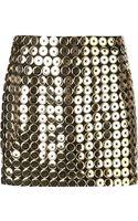 Moschino Button Skirt - Lyst