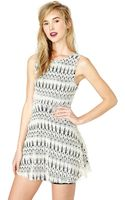 Nasty Gal Misty Dress - Lyst