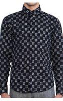 Naked & Famous Regular Shirt Kimono Print Motif - Lyst