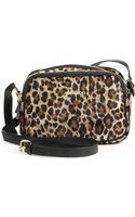 Jimmy Choo Spotted Calf Hair Leather Camera Bag - Lyst