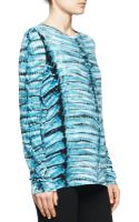 Proenza Schouler Jersey Tie-dye Tissue Top - Lyst