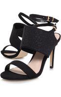 Lipsy heels sandal heels high heels - Lyst