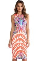 Mara Hoffman Side Cut Out Fitted Dress - Lyst