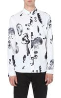 Paul Smith Object-print Cotton Shirt - Lyst