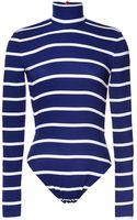 Preen Printed Swim Hartley Swimsuit in Navy Breton - Lyst