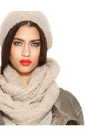 DKNY Boucle Slouchy Hat - Lyst