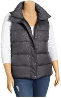 Old Navy Plus Puffa Vest - Lyst