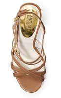 Michael by Michael Kors Cicely Platform Sandal - Lyst