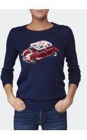 Markus Lupfer British Mini Car Sweater - Lyst