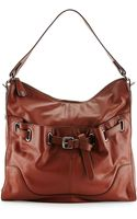 Kooba Kylie Belted Leather Hobo Bag - Lyst