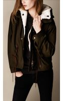 Burberry Shearling Detail Parka Jacket with Warmer - Lyst