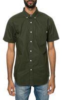 Obey The Baxter Ss Buttondown Shirt - Lyst