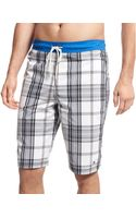 Tommy Hilfiger Big and Tall Clementine Plaid Boardshort - Lyst
