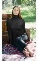 Twenty Knitted Long Sleeve Funnel Neck Top - Lyst