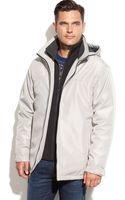 Weatherproof Ultra Tech Hooded Jacket with Bib - Lyst