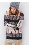 Forever 21 Multi Striped Sweater - Lyst
