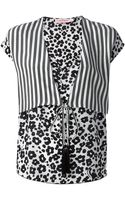 See By Chloé Layered Leopard Print Blouse - Lyst
