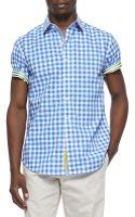 Robert Graham Aegean Shortsleeve Sport Shirt - Lyst