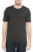 Rag & Bone Striped Flame Jersey T-shirt - Lyst