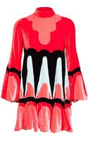 Meadham Kirchhoff Flared Velvet Dress - Lyst
